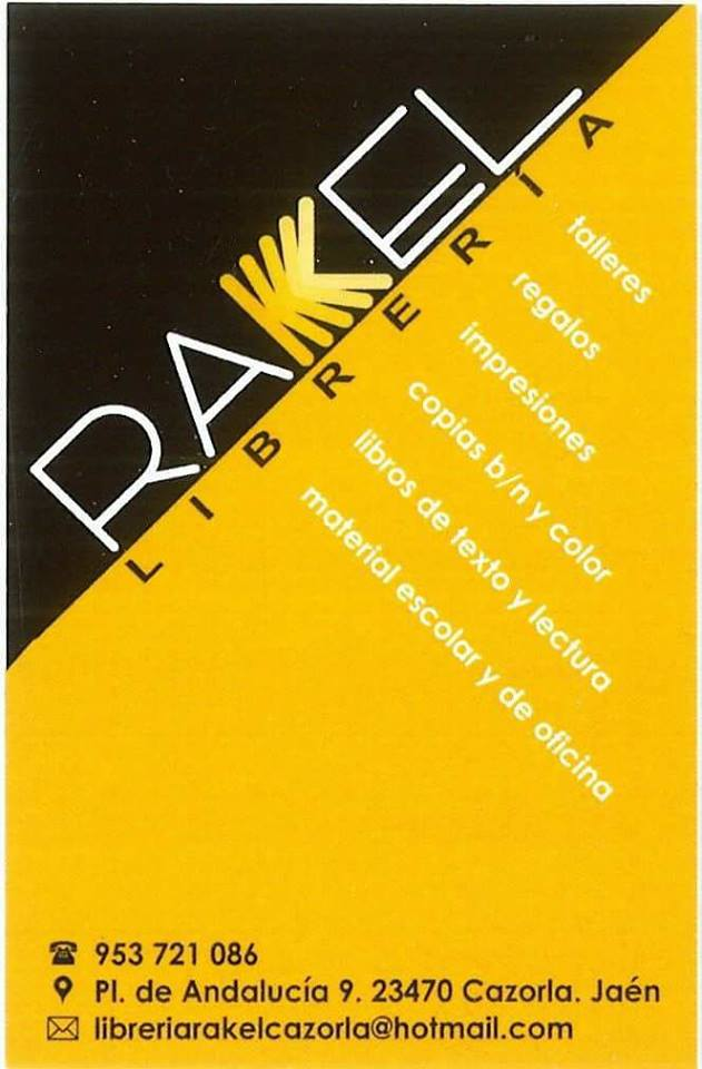 Papelería Librería Rakel