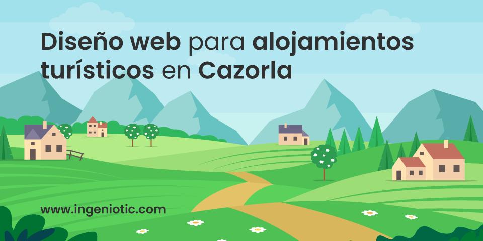 Diseño Web Casa Rural Cazorla