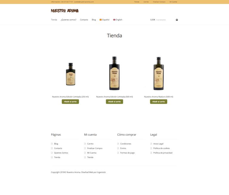 Aceite Nuestro Aroma